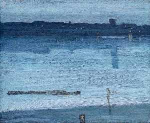 Ноктюрн : синий и серебристый - Челси