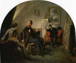 Wikioo.org - The Encyclopedia of Fine Arts - Artist, Painter  Octave Tassaert