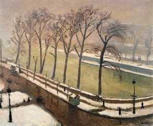 Pont-Neuf in the Snow