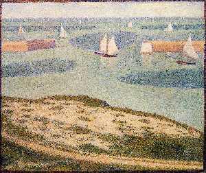 Port-en-Bessin, Entrance to the Outer Harbor