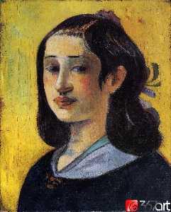 Portrait of Aline Gauguin