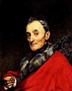 Portrait of the Archeologist Michelangelo Lanci
