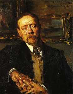 Portrait of the Painter Paul Eugène Gorge