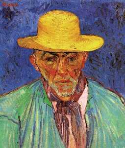 Portrait of Patience Escalier, Shepherd in Provence