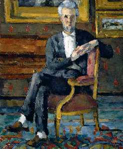 Portrait of Victor Chocquet, Seated