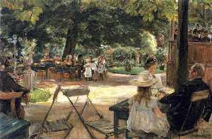 Restaurant Garden (also known as Beer Garden in Leiden (Zelten?))
