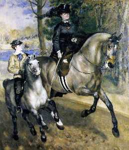 Riding in the Bois de Boulogne (also known as Madame Henriette Darras or The Ride)