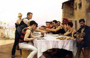 The Rowers of the Meurthe