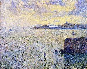 Sailboats and Estuary