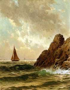 Wikioo.org - The Encyclopedia of Fine Arts - Artist, Painter  Alfred Thompson Bricher