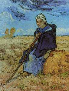 The Shepherdess (after Millet)