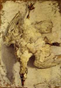 Still Life with White Goose