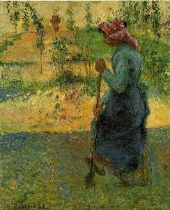 Study of a Peasant in Open Air (also known as Peasant Digging)