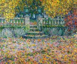 The Terrace, Autumn, Gerberoy