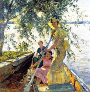 Three Women in a Rowboat