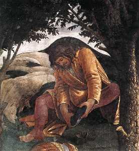 The Trials and Calling of Moses (detail 4) (Cappella Sistina, Vatican)