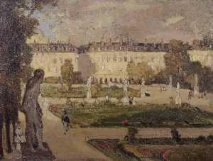 The Tuileries Gardens and the Rue de Rivoli