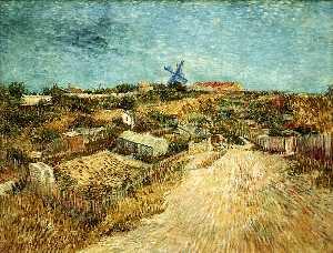 Vegetable Gardens in Montmartre