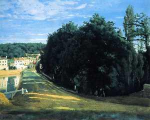 Виль d'Avray - chemin де Коро