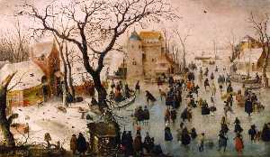 Winter Landscape with a Castle