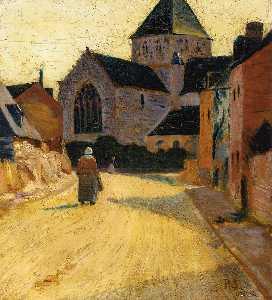 Woman in a Street