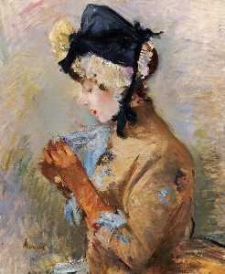 Woman Wearing Gloves (also known as The Parisian)