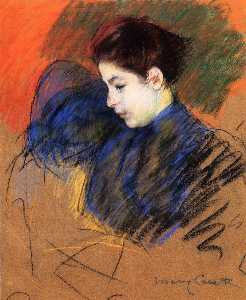 Young Woman Reflecting
