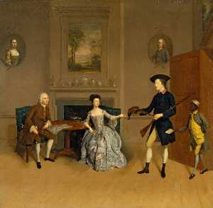 John Orde, His Wife Anne, And His Eldest Son William