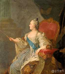 Portrait Of Catherine Ii -