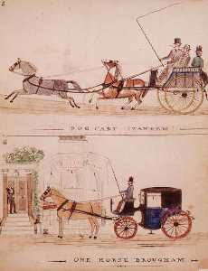 The Dog Cart And The One Horse Brougham