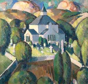 A Lowland Church - John Duncan Fergusson