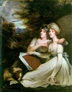 Portrait Of The Frankland Sisters