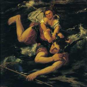 Hermes y el bacchus infantiles