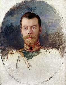 Study For A Portrait Of Tsar Nicholas Ii