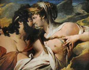 Jupiter Beguiled By Juno On Mount Ida