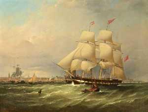 The Sailing Ship 'emma'