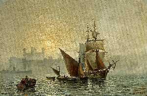 Mist In Port, London