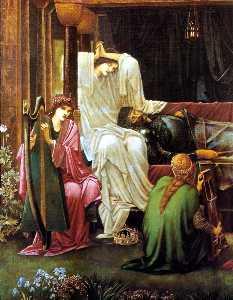 The Last Sleep Of ArthurIn Avalon (detail)