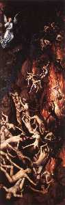 last judgment triptych (detail - (9))