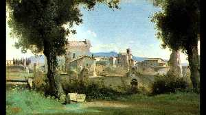 View from the Farnese gardens, Rome