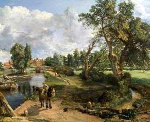 Flatford Mill (' Scene on a Navigable River ')