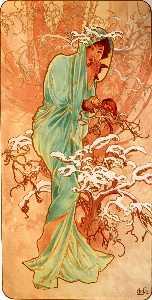 無題 1383 - Alfons Maria Mucha