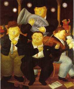 quatre musiciens
