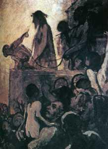 Honoré Daumier Nous voulons Barabbas (Ecce Homo) We want Barabbas (Ecce Homo)