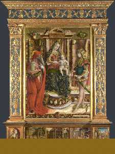 Altarpiece from S. Francesco dei Zoccolanti, Matelica