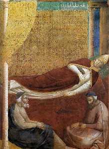 Sogno di Innocenzo III particolare  2