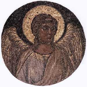 tondo con angelo