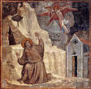 Stigmatizzazione di  santo  Francesco