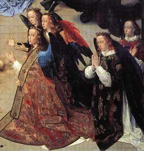 Portinari - The Adoration of the Shepherds (detail)7