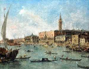 Wikioo.org - The Encyclopedia of Fine Arts - Artist, Painter  Francesco Lazzaro Guardi